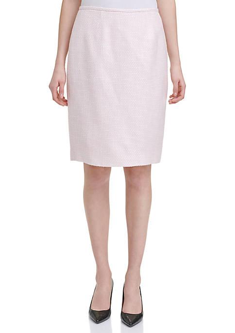 Calvin Klein Novelty Skirt
