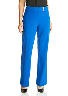 Calvin Klein Solid Wide Leg Pants
