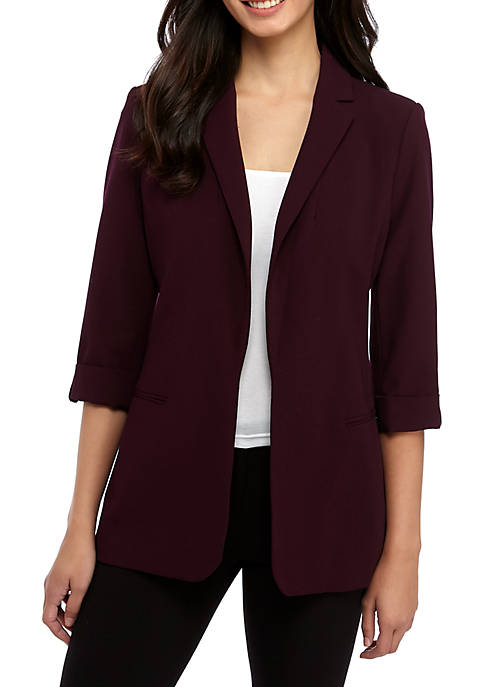 Calvin Klein Luxe Roll Tab Jacket