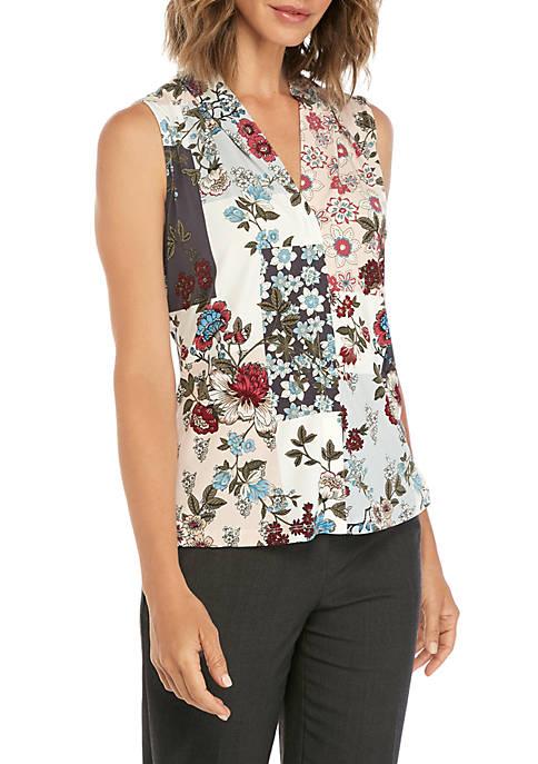 Calvin Klein Sleeveless V-Neck Printed Cami