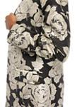 Women's Floral Jacquard Jacket