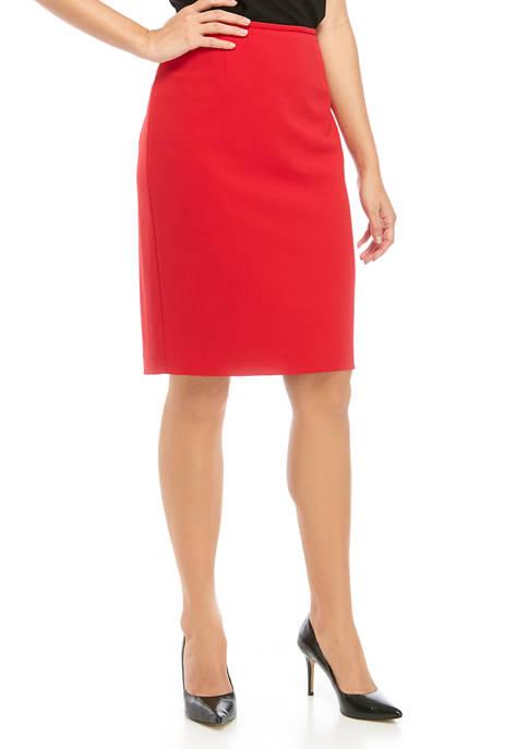 Calvin Klein Womens Straight Skirt