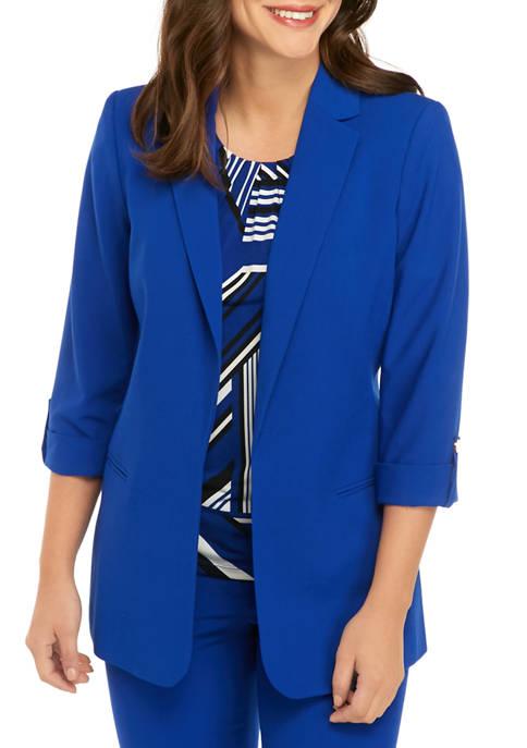 Calvin Klein Womens Woven Jacket