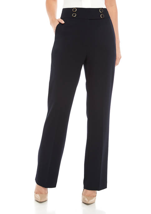 Calvin Klein Womens Luxury Pants with Hardware