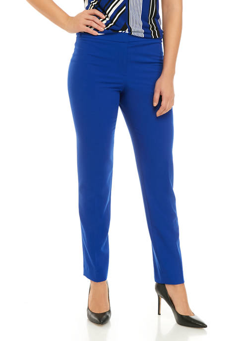 Womens Button Detail Woven Pants