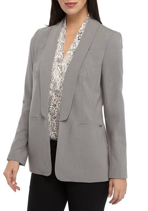 Calvin Klein Womens Open Jacket