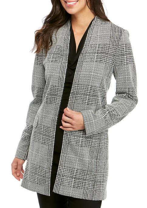 Womens Open Knit Jacket