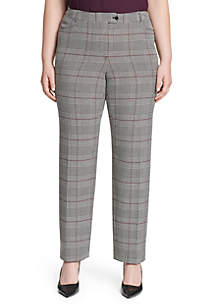 Plus Size Plaid Pants