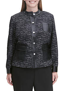 Plus Size Suit Jacket