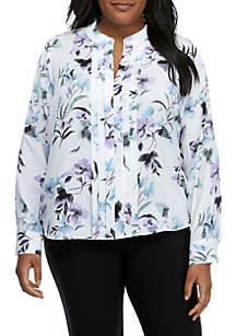 06556f05986c8 ... Calvin Klein Plus Size Floral Top