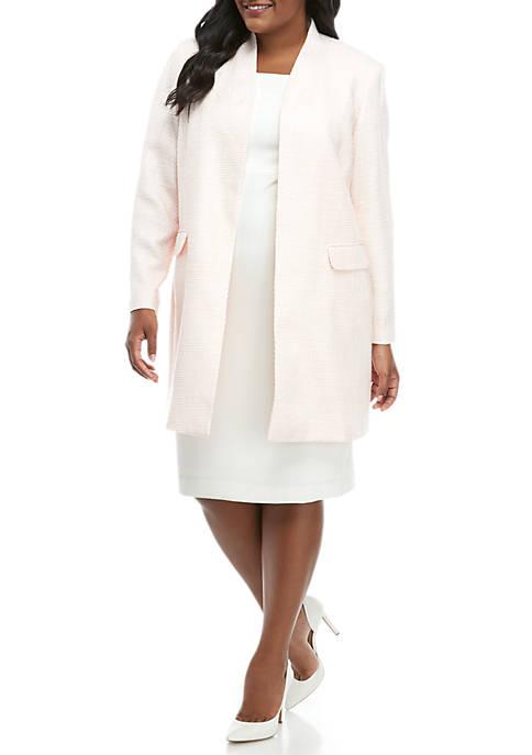 Calvin Klein Plus Size Open Novelty Topper