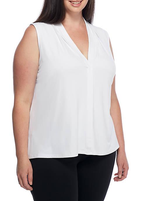 Calvin Klein Plus Size V-Neck Cami