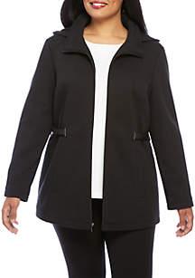 Sweater Fleece Coat