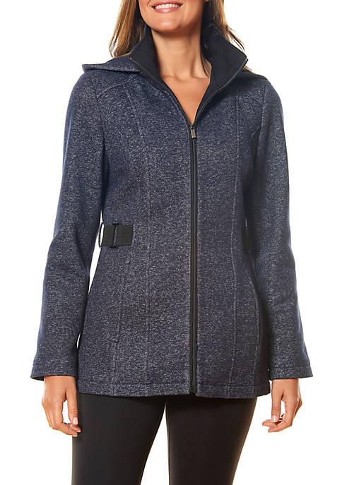 Zip Front Fleece Sweater