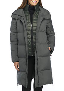 Wide Channel Puffer Ultra Light Down Jacket