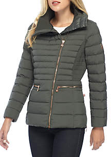 Bernardo Primaloft Thermaplume Asymmetrical Jacket
