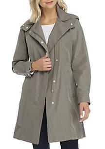 Zip Front Rain Jacket