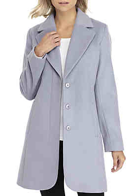 9e86cdcdde837 Forecaster Boston Single Breasted Notch Collar Coat ...