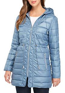 Hooded Packable Anorak Jacket