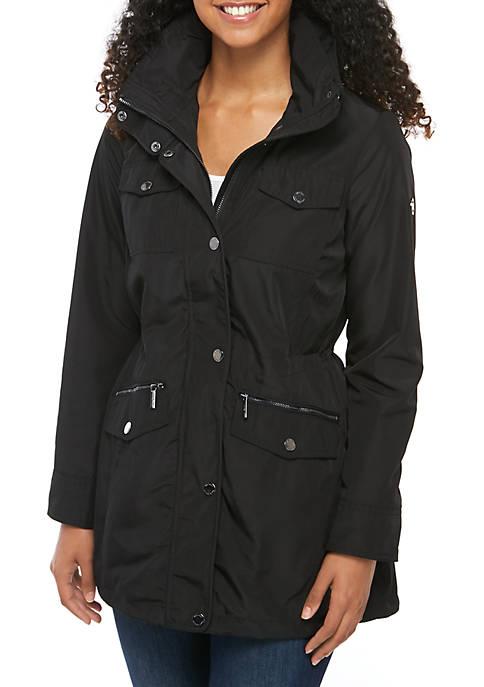 MICHAEL Michael Kors Button Front Anorak Jacket