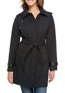 Belted Soft Shell Coat