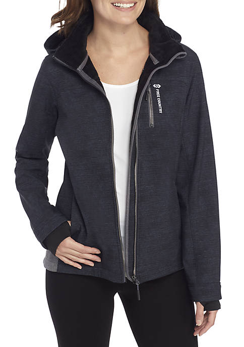 FREE COUNTRY Reversible Soft Shell Jacket