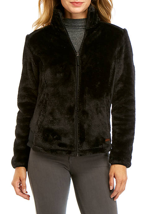 FREE COUNTRY Plush Pile Fleece Jacket