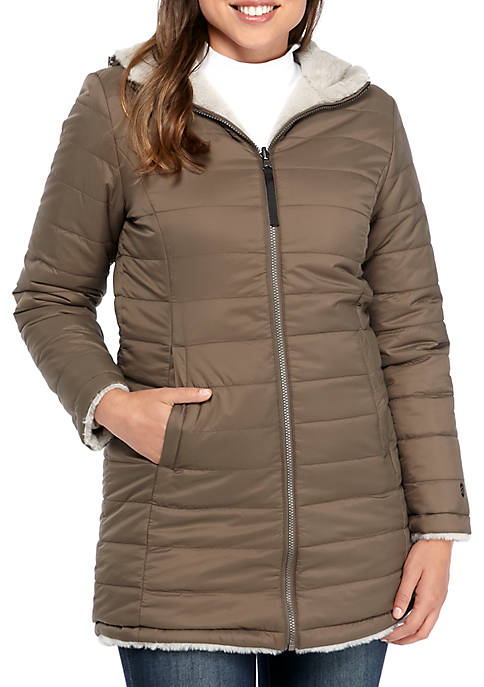 FREE COUNTRY Reversible Long Jacket