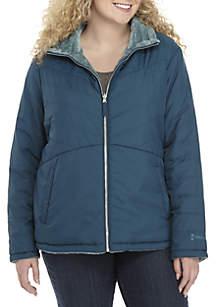 Plus Size Reversible Active Jacket