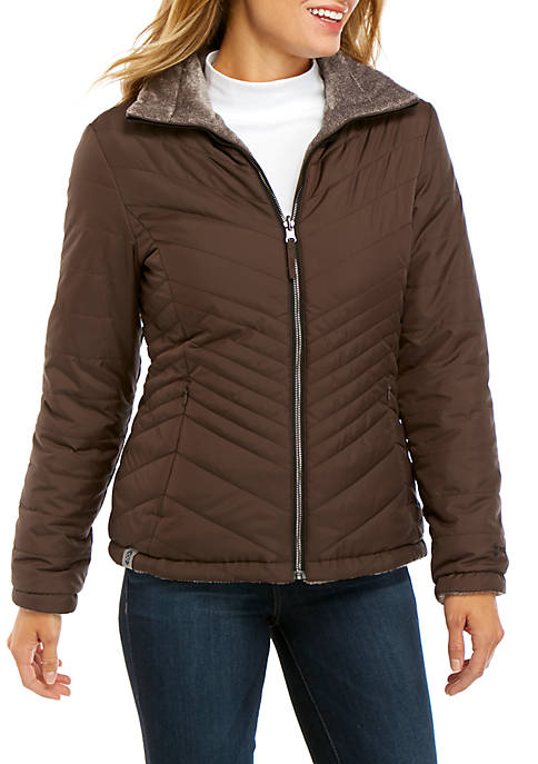 FREE COUNTRY Reversible Quilted Jacket
