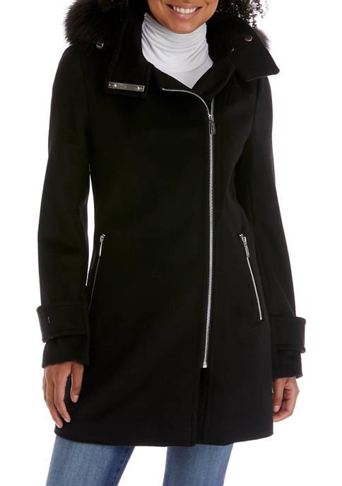 Asymmetrical Zip Front Jacket