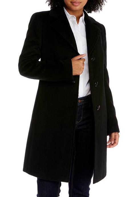 Single Breasted Wool Coat