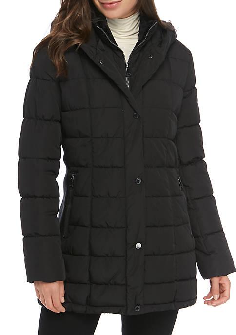 Calvin Klein Polyfill Long Coat