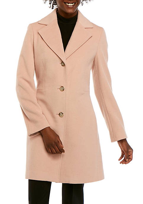 Single Breasted Lux Wool Coat