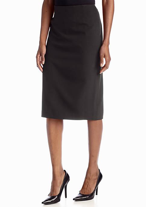 Kasper Petite Skimmer Skirt