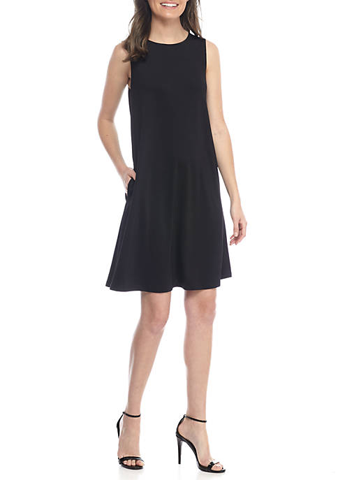Kasper Jersey Swing Dress