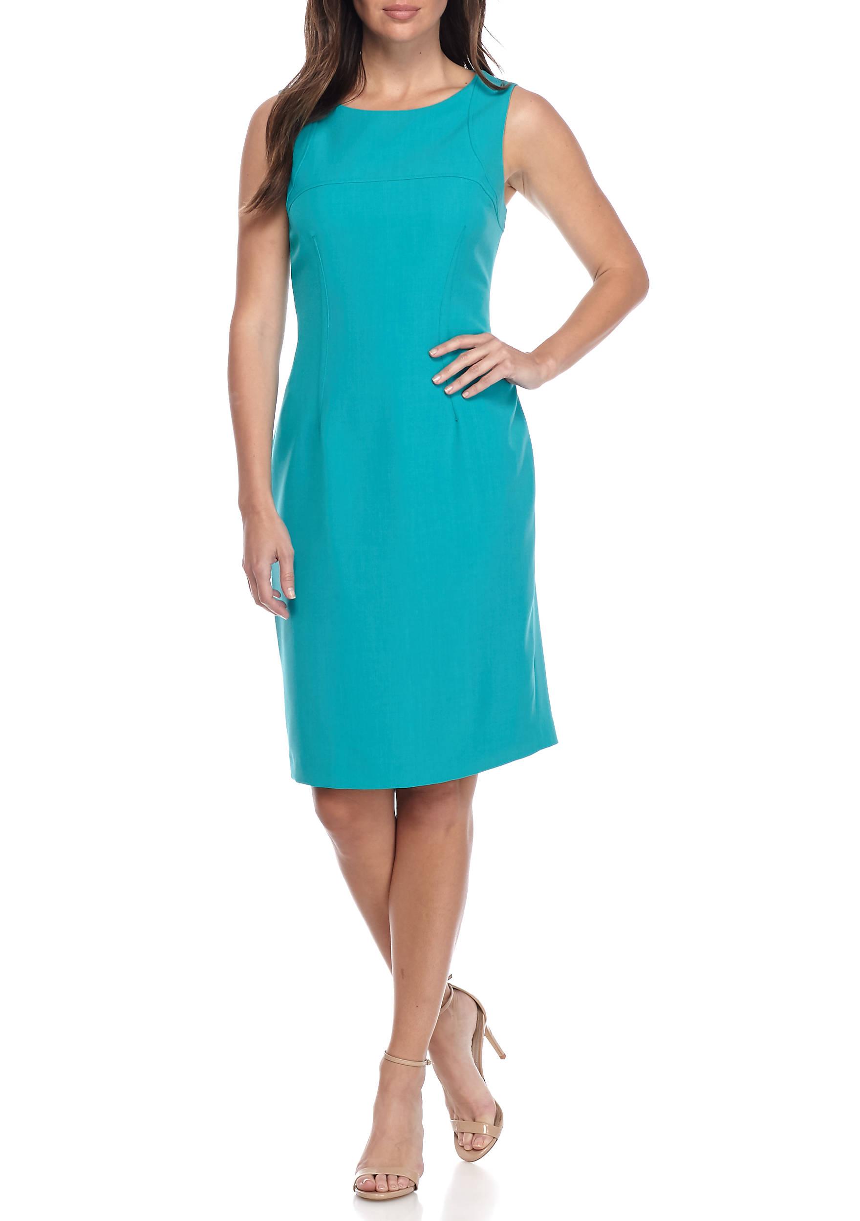 Kasper Petite Stretch Crepe Sheath Dress | belk