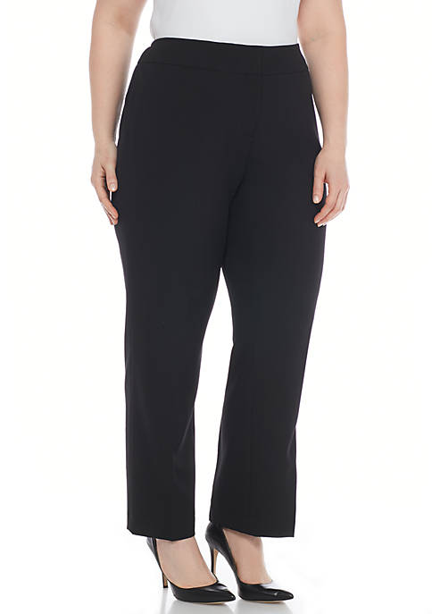 Kasper Plus Size Slim Pants