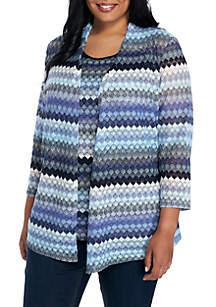 Crochet Lace 3/4 Cardigan