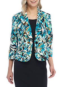 Blossoming Printed Jacket