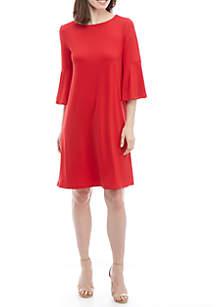 Knit Studio Bell Sleeve Dress