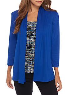 Knit Concept Jacket