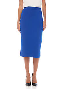 Knit Straight Skirt