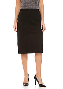 Compression Ponte Slim Skirt