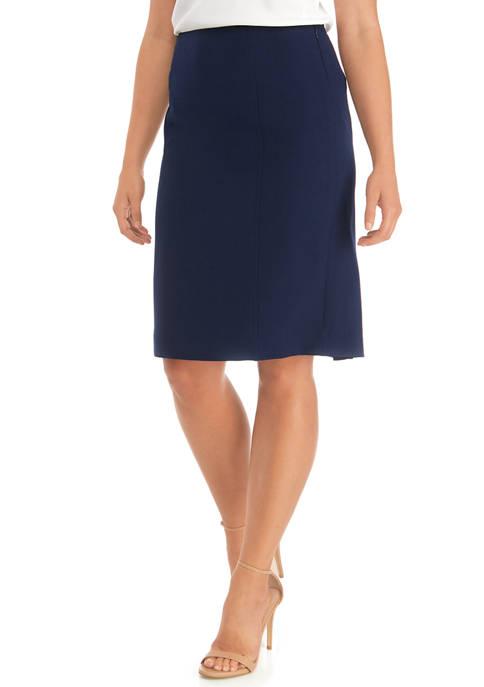 Kasper Petite A-Line Skirt