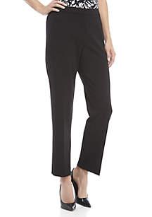 Elastic Side Crepe Pants