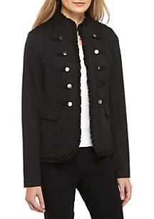 Kasper Ponte Military Jacket