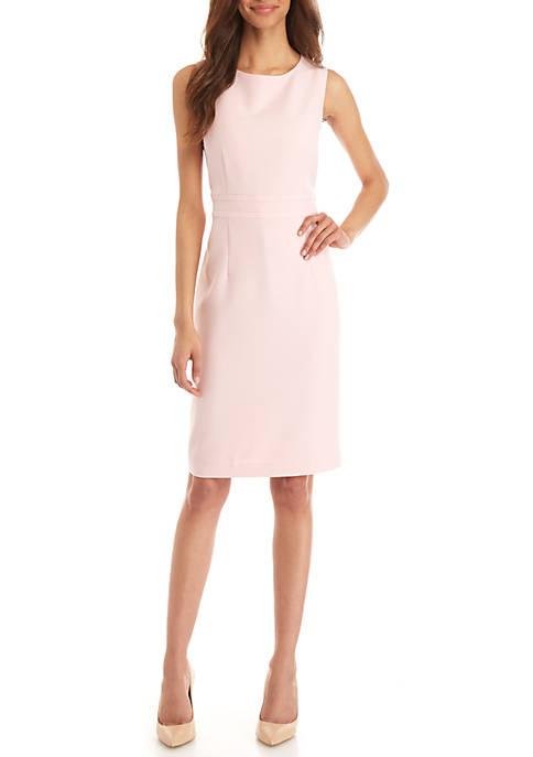 Petite Crepe Sheath Dress