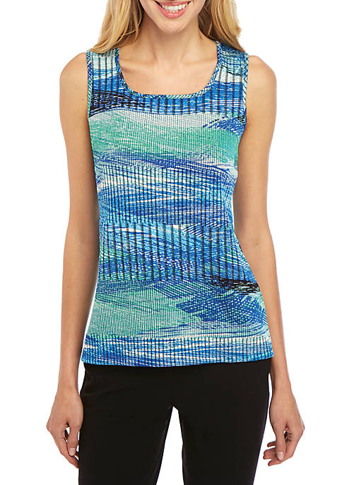 Sleeveless Textured Cami