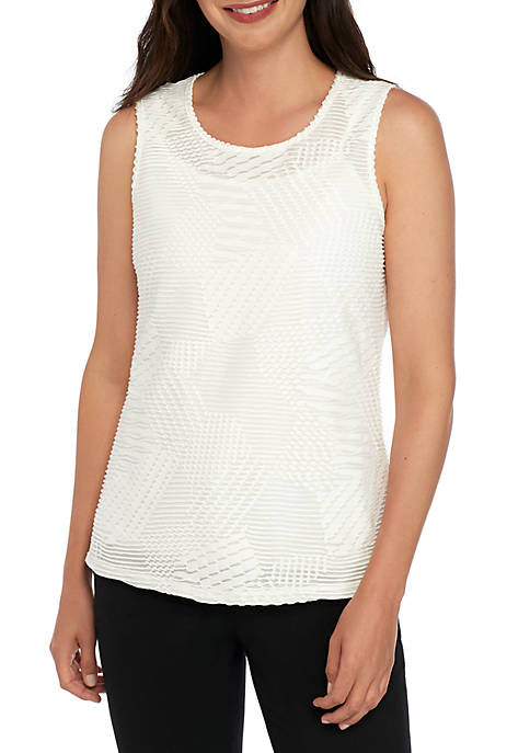 Cozy Knit Shell Top